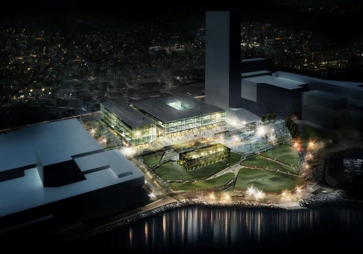 Teaterparken / Aker / Tromsø / Dark Arkitekter