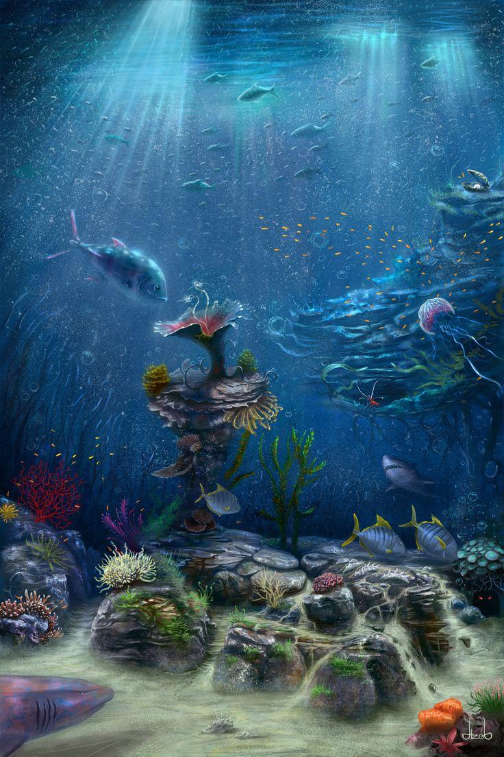ArtStation - Underwater, Ihor Reshetnikov