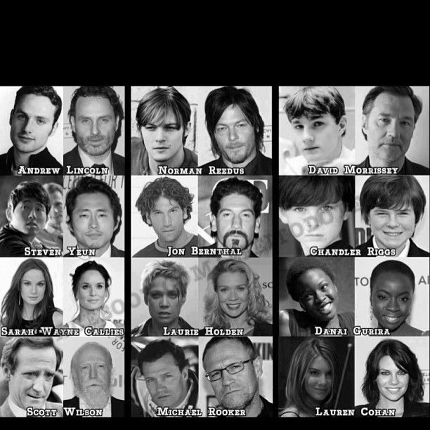 are any of the walking dead cast dating