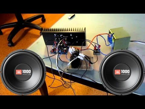 How To Make A Simple Audio Amplifier At Home With 2 Transistors D882