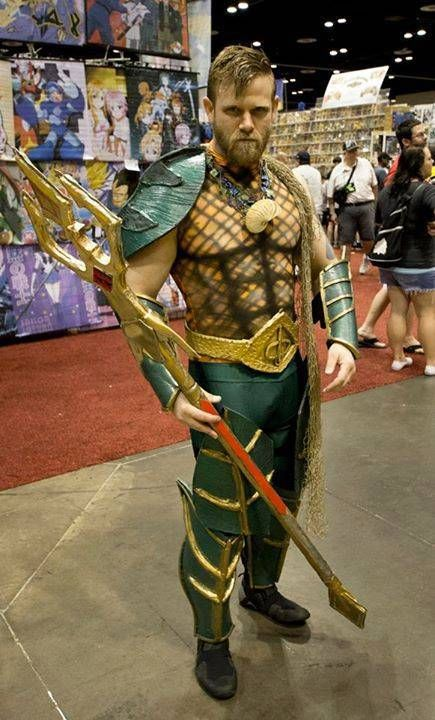 Seduced by the New...: Aquaman Cosplay