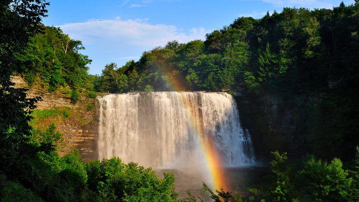 Skachat Oboi Na Rabochij Stol 1920h1080 Vodopad Vodopady