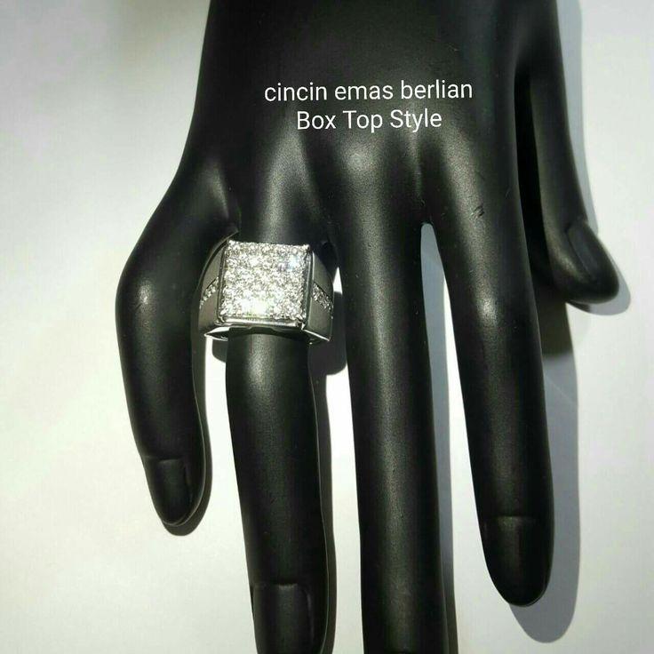 New Arrival🗼. Cincin Emas Berlian Box Top Style💎💍.   🏪Toko Perhiasan Emas Berlian-Ammad 📲+6282113309088/5C50359F Cp.Antrika👩.  https://m.facebook.com/home.php #investasi#diomond#gold#beauty#fashion#elegant#musthave#tokoperhiasanemasberlian