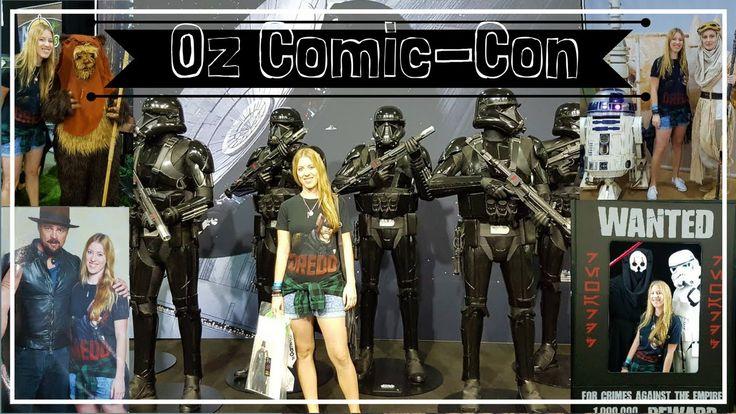 Oz Comic Con Vlog