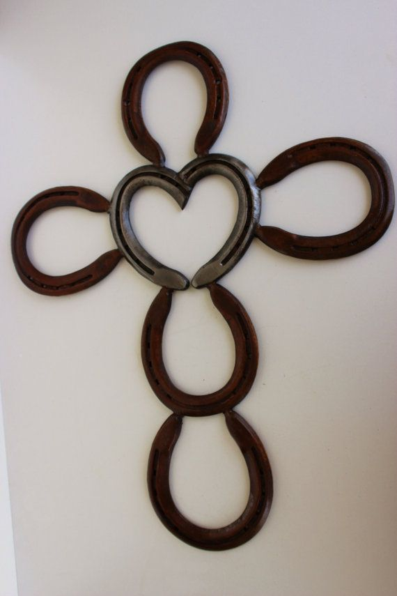 Hey, I found this really awesome Etsy listing at http://www.etsy.com/listing/153205756/heart-horseshoe-cross