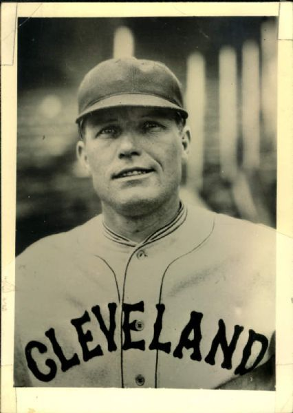 1929 Bibb Falk Cleveland Indians The Sporting News Collection Archives ...