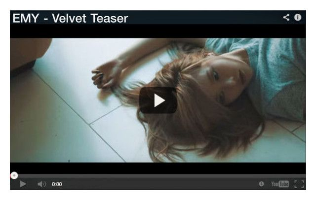 """┇ MEMBERS ┇ EMY - ""VELVET"" VIDEO TEASER"" by dreamcatcher-official ❤ liked on Polyvore"