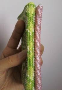 Вязание русским методом: бисеринка над бисеринкой