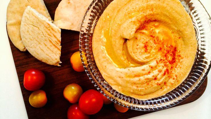 Hummus med chili