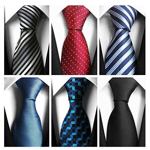 AVANTMEN Classic Men's Neckties 6 PCS Woven Jacquard Neck...  https://www.amazon.com/dp/B075Z2VPGY/ref=cm_sw_r_pi_dp_U_x_4HY1BbTE… |  Classic man, Ties mens, Neck tie