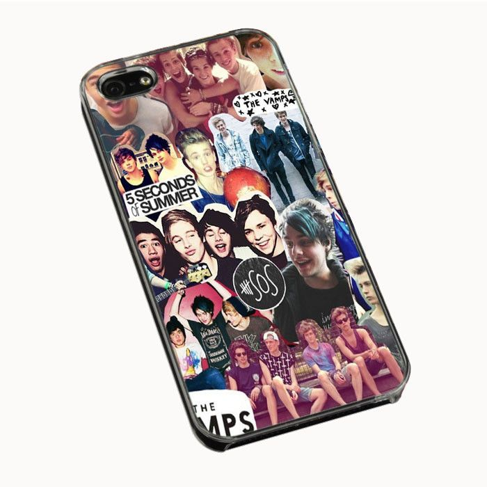 5 Second of Summer and The Vamps Collage IPhone 4| 4S 5 5S 5C Cases