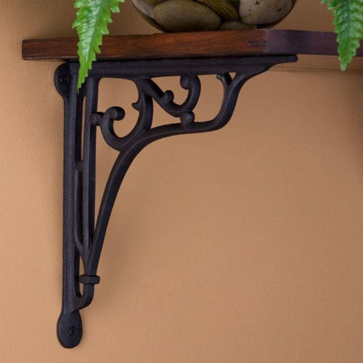 25 best ideas about iron shelf on pinterest cast iron shelf brackets cast iron brackets and. Black Bedroom Furniture Sets. Home Design Ideas