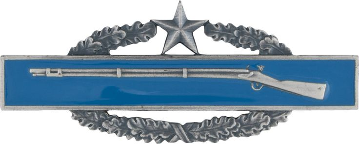 Combat Infantryman Badge Second Award (1952 > 1950)