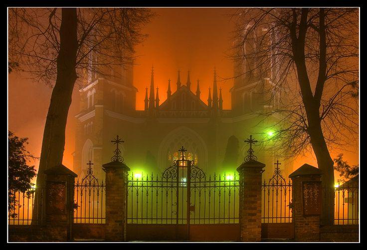 Sanctuary in fog