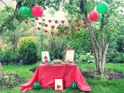арбузная вечеринка декор - Поиск в Google