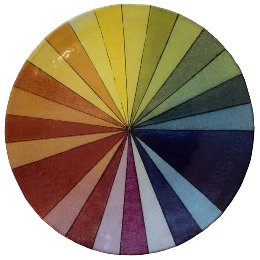 Colour Wheel Platter
