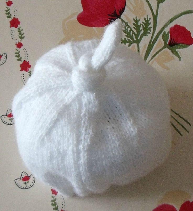 Photo tricot tricot modele bonnet naissance 12 tricot pinterest photos et tricot et crochet - Modele de bonnet a tricoter facile ...