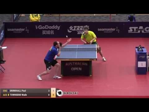 DRINKHALL Paul   TOWNSEND Wade 2017 Australian Open 호주오픈탁구대회