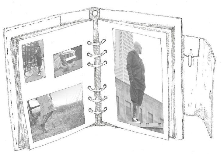 photo album sketch