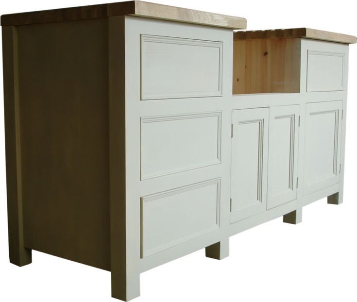 Kitchen Cabinets Made To Order: Details About Belfast Or Butlers Sink Housing Unit