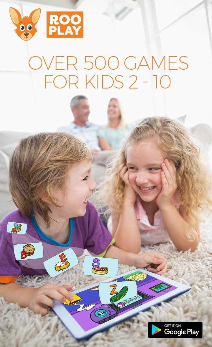 500 activities in 1 app for your child to learn, play and create. Available now!