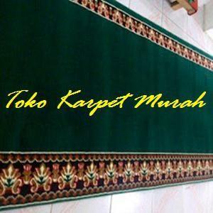 Kami menjual berbagai kebutuhan perlengkapan masjid dengan harga yang murah dan berkualitas. Toko online kami menyediakan berbagai jenis dan harga karpet sajadah masjid.  Yang tebal, nyaman, lembut, dengan motif, warna serta corak yang menarik.  Merk karpet sajadah tersbut antara lain, medena, kingdom, iranshar, yasmin, handmade, polos, meteran dan lain-lain.    Dinasty Bahan : Polypropiline Ukuran per Roll  : 120 cm x 600 cm Tebal : 6 mm Warna : Merah, Hijau