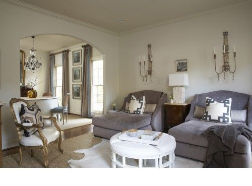 houzz tour comfort and elegance for 5 casual and formal looks combine in an evolving chaise lounge