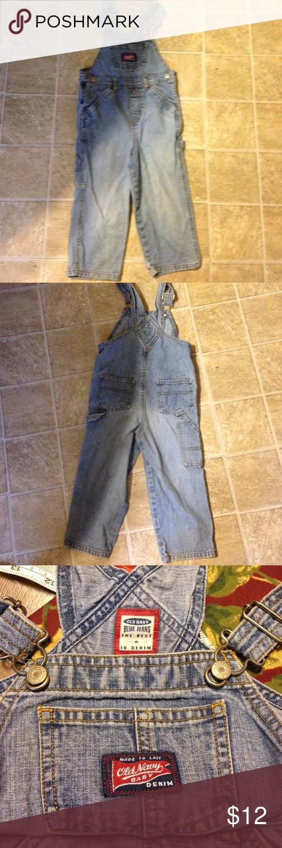 Old Navy overalls. Sz 3T Old Navy overalls. Sz 3T. Cute!! Old Navy Bottoms Overalls