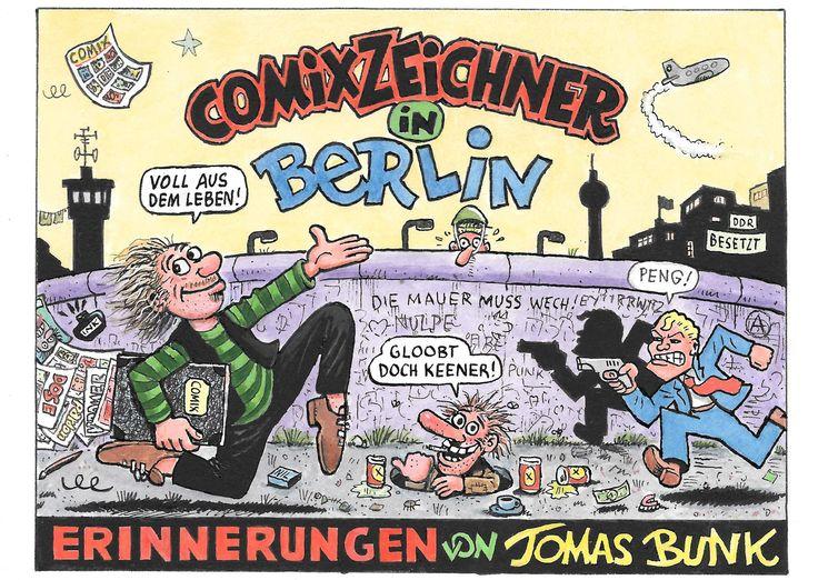Tomas Bunk - Comiczeichner in Berlin - Peng!