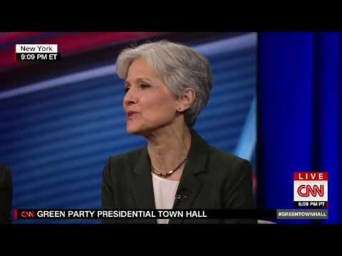 Green Party Town Hall with Presidential Candidate Jill Stein & Vice Presidential Candidate Ajamu Baraka • CNN • 17 August 2016 [actual recorded date] https://www.youtube.com/watch?v=lIPu31PHIHo