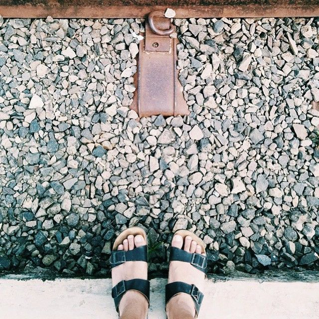 """""""Take a walk, maybe you find your own heaven in the afternoon : @danu_herlambang #hijacksandals  #leathergoods #sandals #leather #vsco #vscocam #regram…"""""""