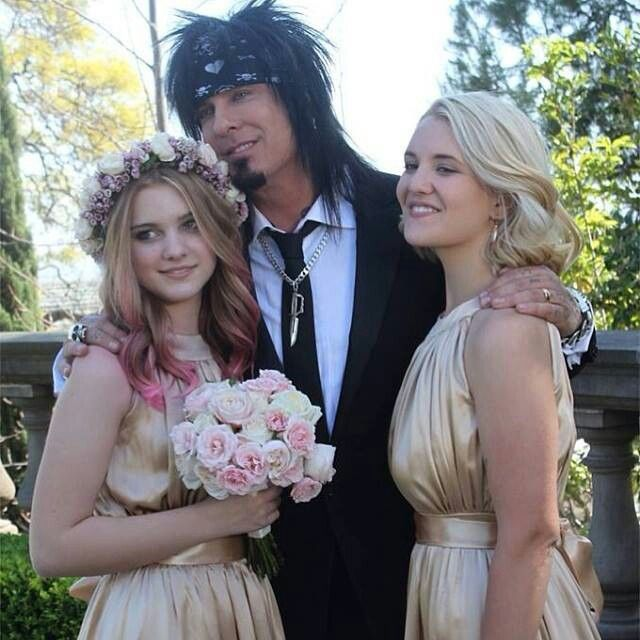 Nikki Sixx Wiki >> Nikki with daughters Frankie & Storm | Sixx Family: Past & Present | Pinterest | Daughters and ...