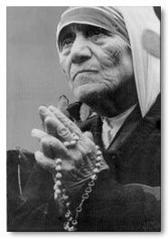 blessed teresa of calcutta pray for us a story about mother teresas rosary