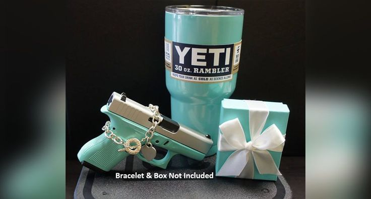The Perfect Gift for Female Shooters: Matching Tiffany Blue Glock and Yeti Rambler http://www.wideopenspaces.com/the-perfect-gift-for-female-shooters-matching-tiffany-blue-glock-and-yeti/
