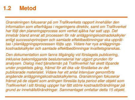 """Granskning av byggstartsförslag i """"Granskning av #Trafikverket's byggstartsförslag 2015"""" : http://spotidoc.com/doc/4294036/granskning-av-trafikverkets-byggstartsf%C3%B6rslag-2015"""