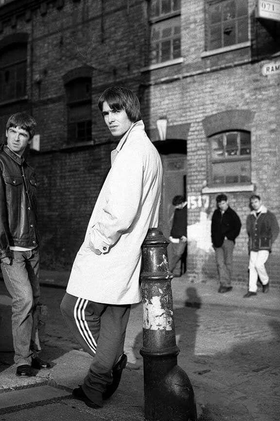 Oasis in East London [1994].