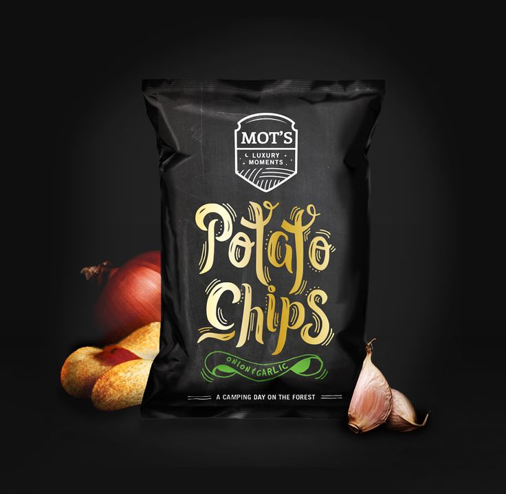 Mot's Potato Chips — The Dieline - Branding & Packaging