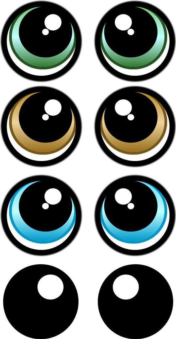Черные глазки картинки