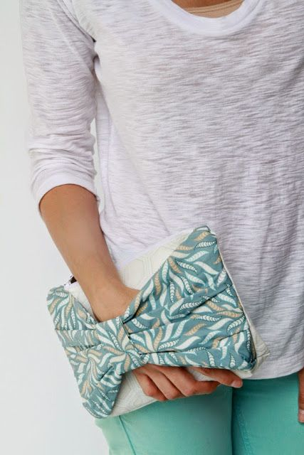 clutch o bolso de mano | Labores en Red