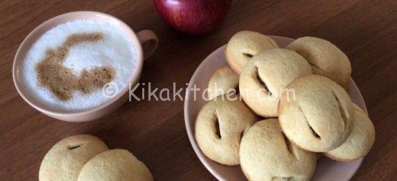 Biscotti cuor di mela   Kikakitchen