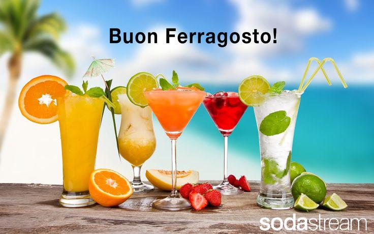 SodaStream ti augura Buon Ferragosto!