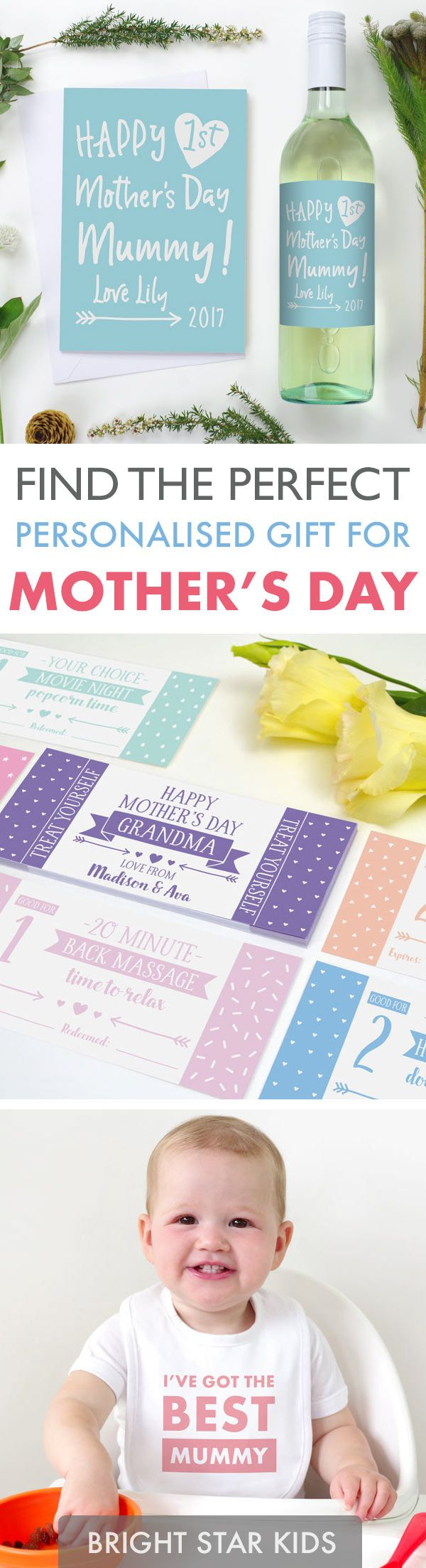 Mother's day gift ideas // personalised gifts