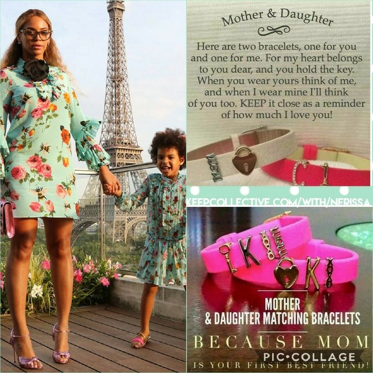 What could be cuter than #Beyonce & #BlueIvy in matching outfits?! How about #MommyAndMe #KEEPCOLLECTIVE ??? Perfect for #MothersDay or any occassion.   Shop my site or message me directly: keepcollective.com/soc/lv24u    #isellkeep #keep #bey #beyhive #armcandy #jewelry #designer #mom #daughter #bff #love @beyonce