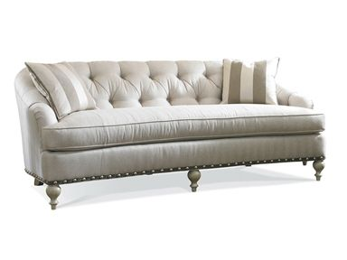 This is my favorite single cushion sofa.  Not too big and not too small.    Shop for Sherrill One Cushion Sofa, 3378, and other Living Room Sofas at Goods Home Furnishings in North Carolina Discount Furniture Stores Outlets. Seat Type: Welted Loose Seat Cushion. Back Type: Tufted Back.