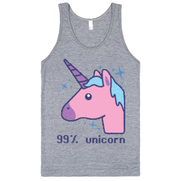 Unicorn Are You If Youre A Fan Of Retro Fantastic Unicorns This 8 Bit Style Design Is For Printed On Skreened Tank