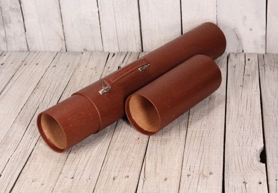 Cylinder Map Case Map Pouch Map Tube Drawings Holder