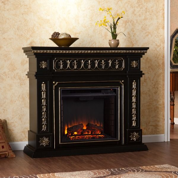 Harper Blvd Alessia Black Electric Fireplace (OS1669E) (Glass) - 17 Best Ideas About Black Electric Fireplace On Pinterest Small