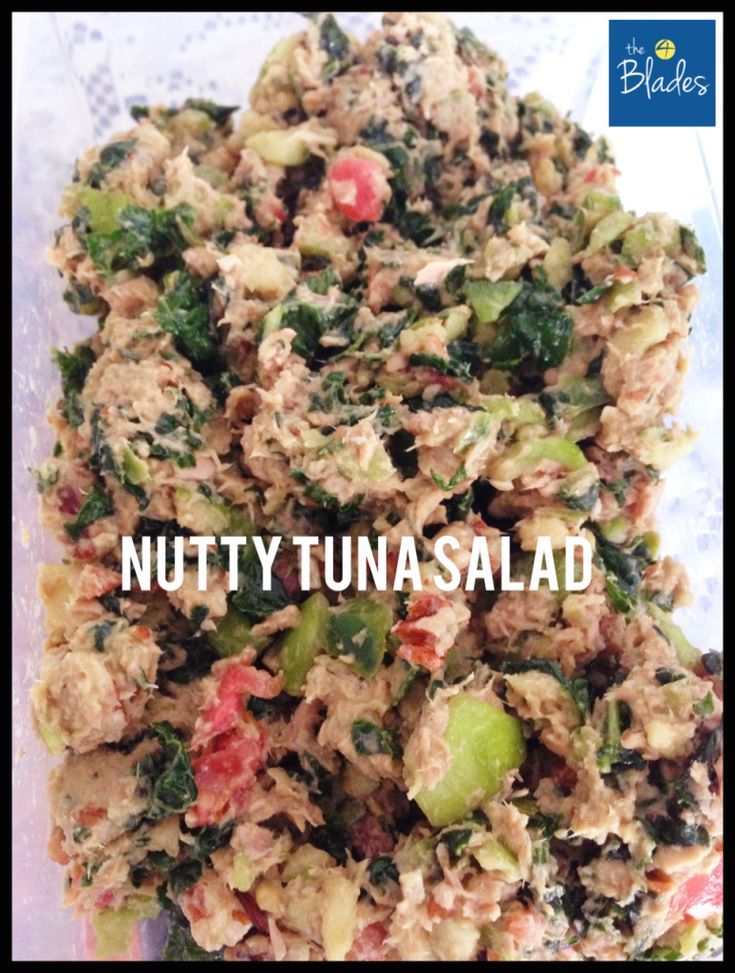 Nutty Tuna Salad