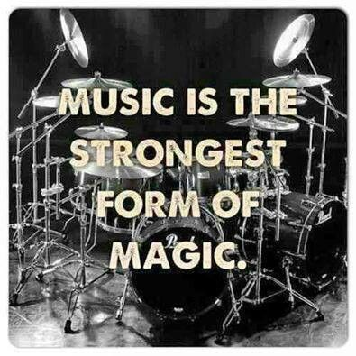 Music is within the Soul of Magic and Magic's Adept's.