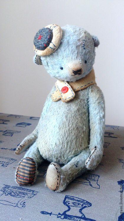 Mr.BEAU - голубой,морской стиль,винтаж,винтажный стиль,коллекционная игрушка